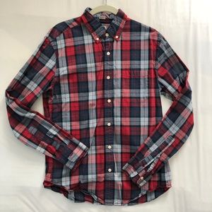 J. Crew Slim Fit Casual Button-Down Shirt - Med